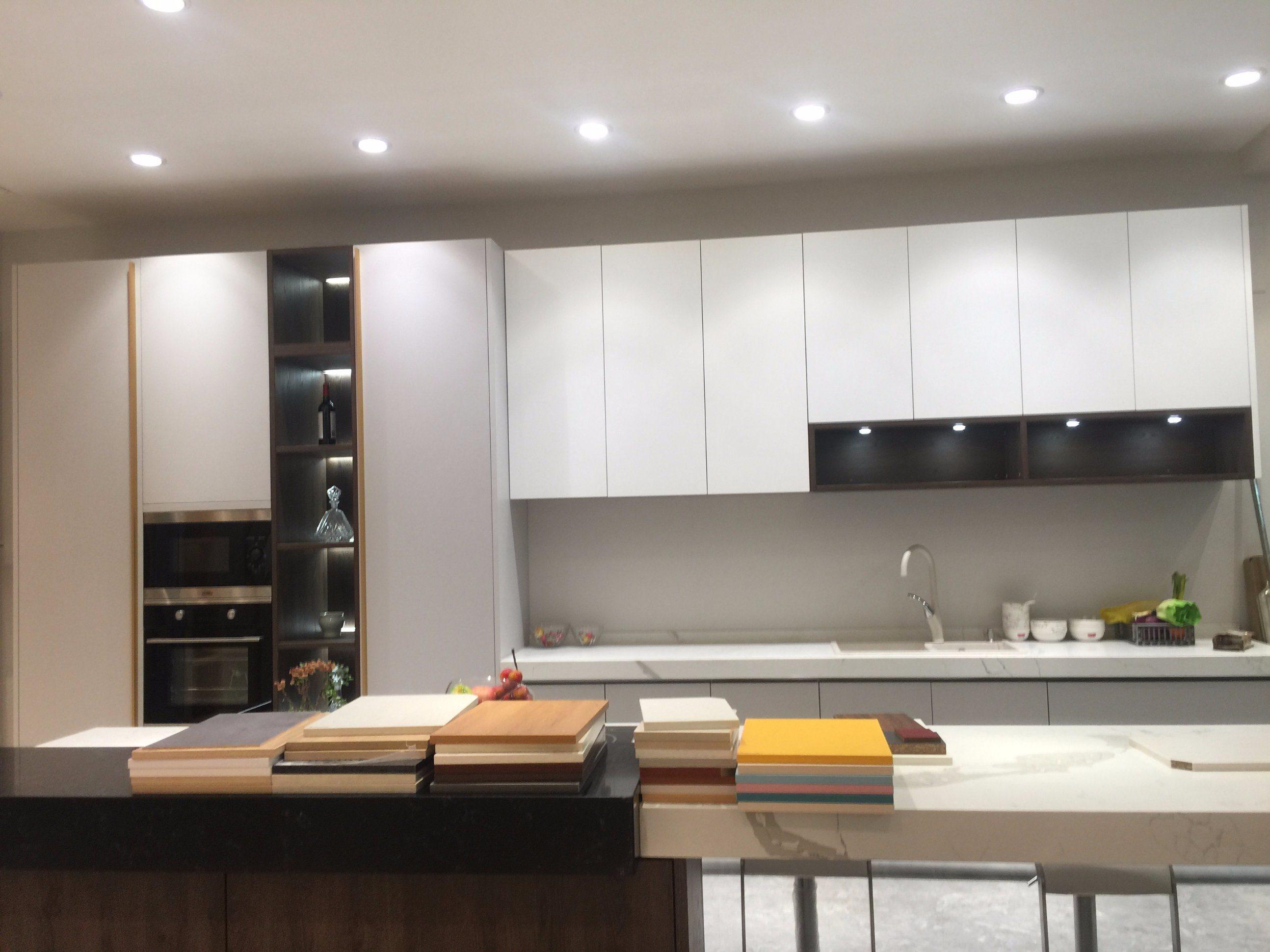 China High Gloss White Kitchen Furniture Cabinet With E0 E1 Grade Acs2 L191 China High Gloss Kitchen Cabinet E0 E1 Grade Kitchen