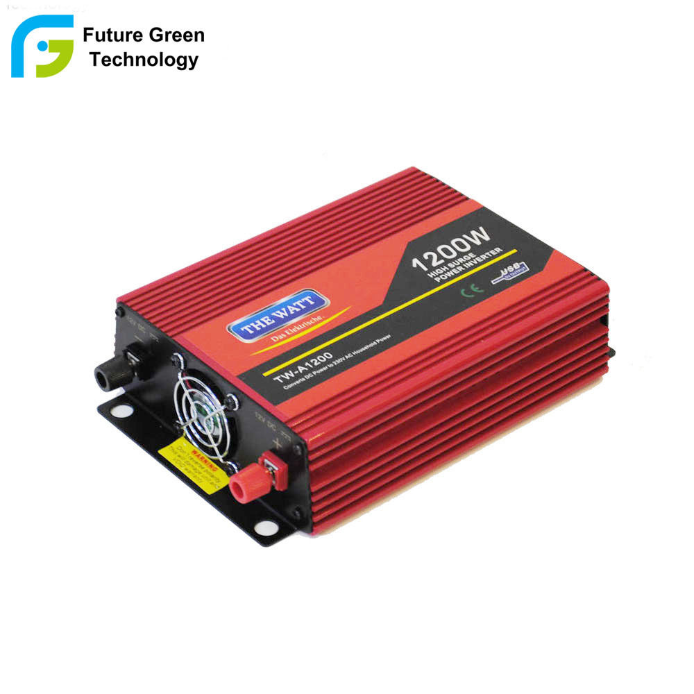 China Hot Use High Power Inverter Rechargeable Solar Car 500w Mosfet From 12v To 110v 220v 600w Kva Ups Dc Ac