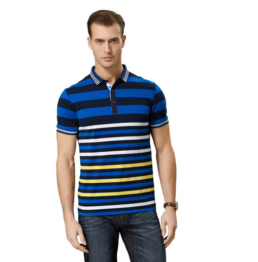 Fashion Nice Cotton/Polyester Yarn Dyed Polo Shirt (P062)
