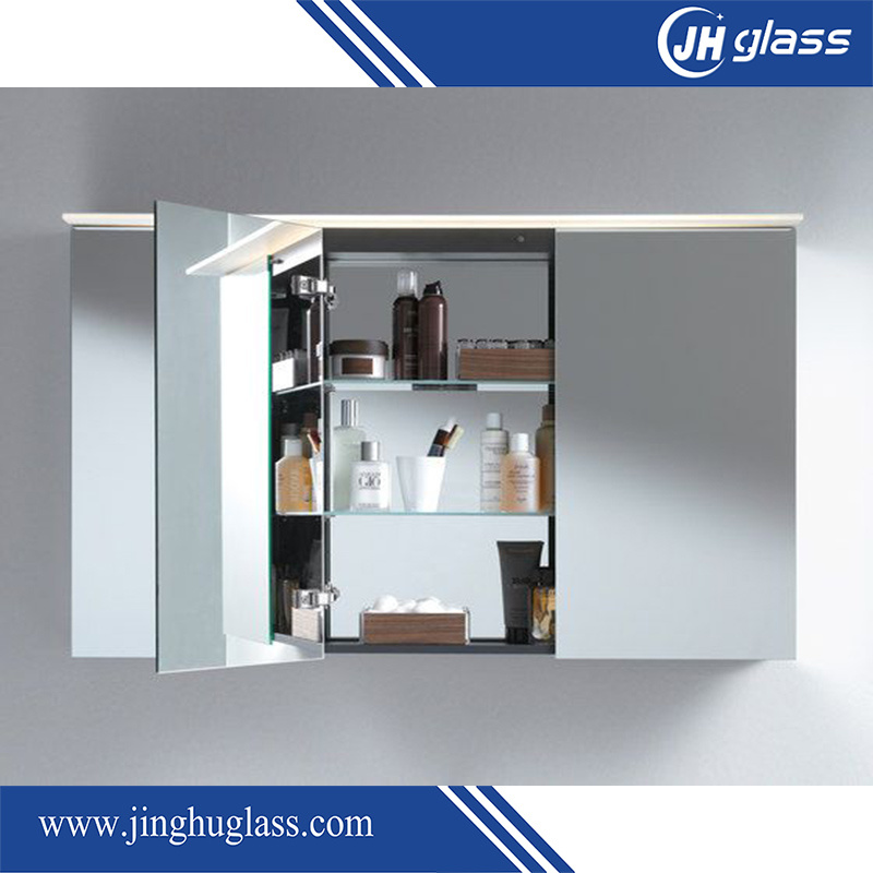 China Lamxon Backlit Mirror Cabinet With Led Light And