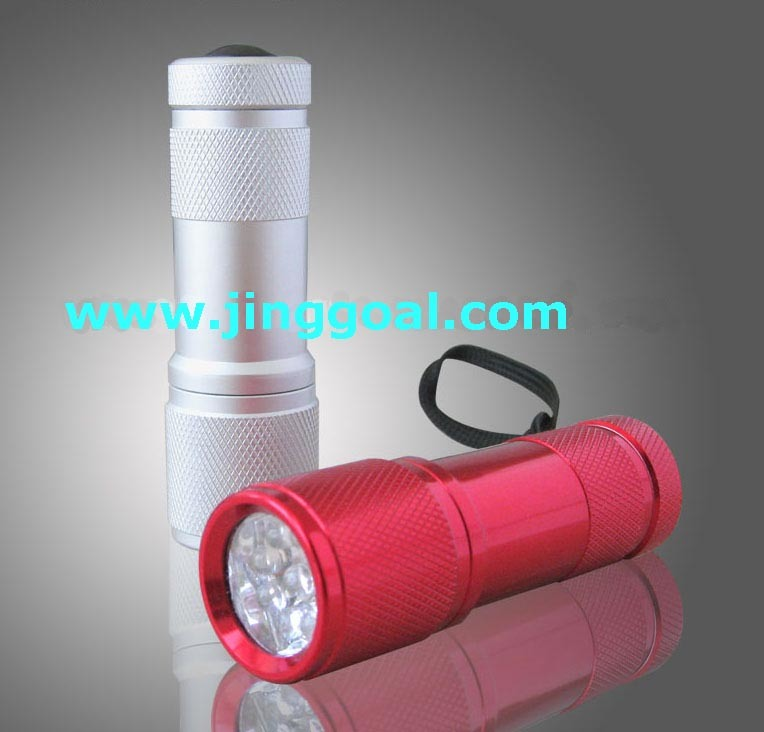9 LED torch