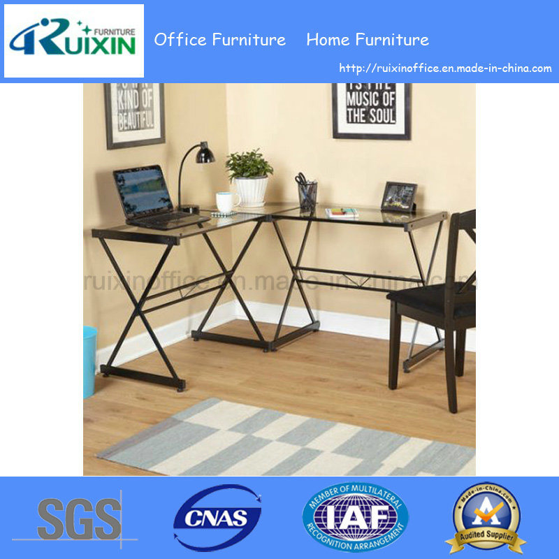 Outstanding Hot Item Glass And Metal L Shape Corner Computer Desk Multiple Colors Z160706 2F Home Remodeling Inspirations Basidirectenergyitoicom