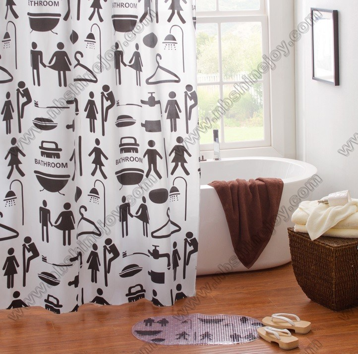 China Love Shower Curtain PVC\\PEVA\\EVA - China Shower Curtain, Bath ...