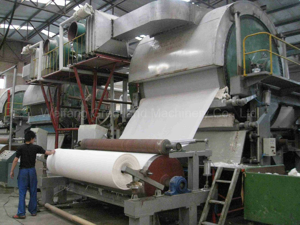 Paper Mill Parts : China mm tissue paper making machine for factory