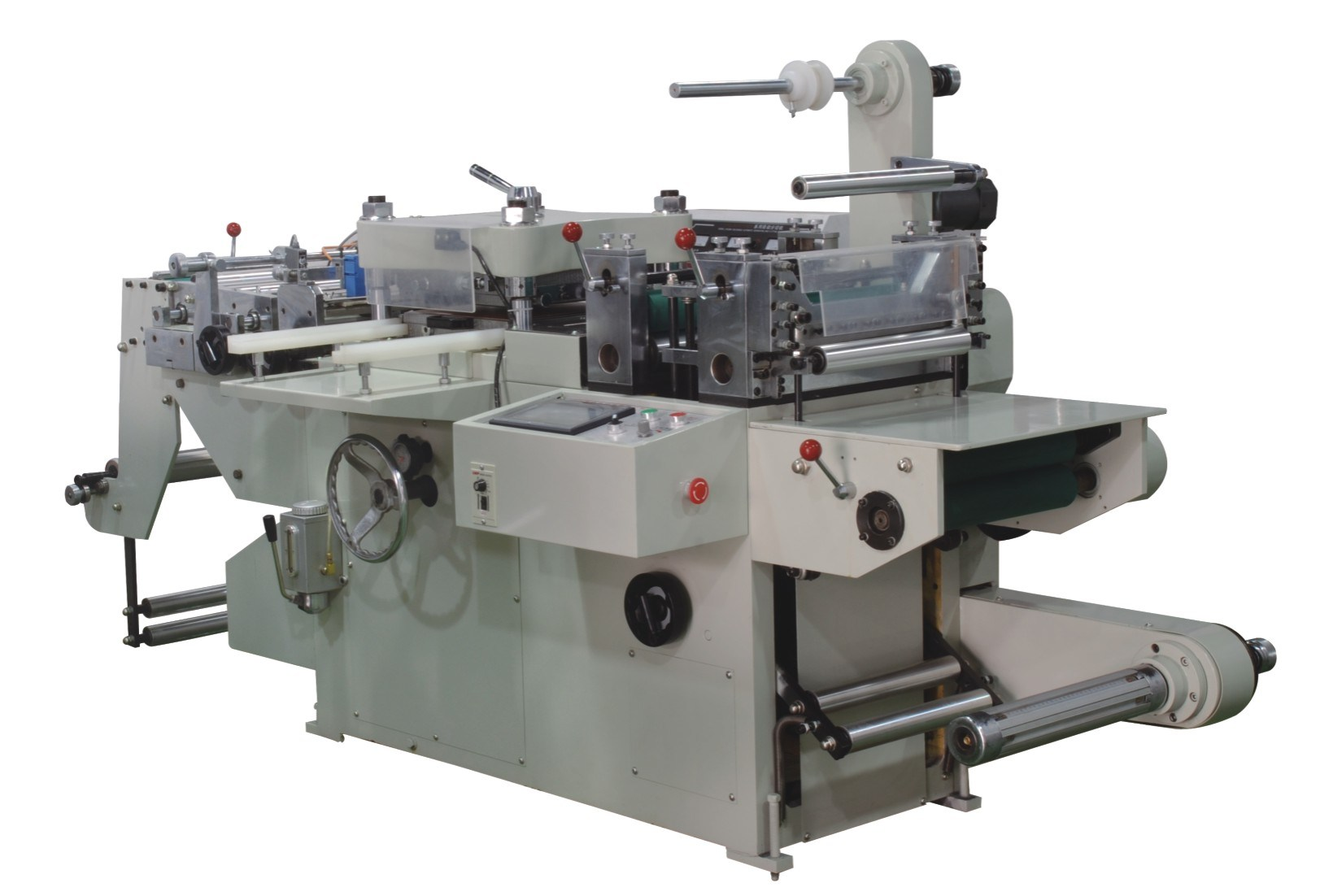 Jiayuan Excellent Quality Roll to Sheet Die Cutting Machine for Label