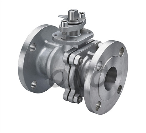 ANSI Carbon Steel Lever Open Float Ball Valve with Flange