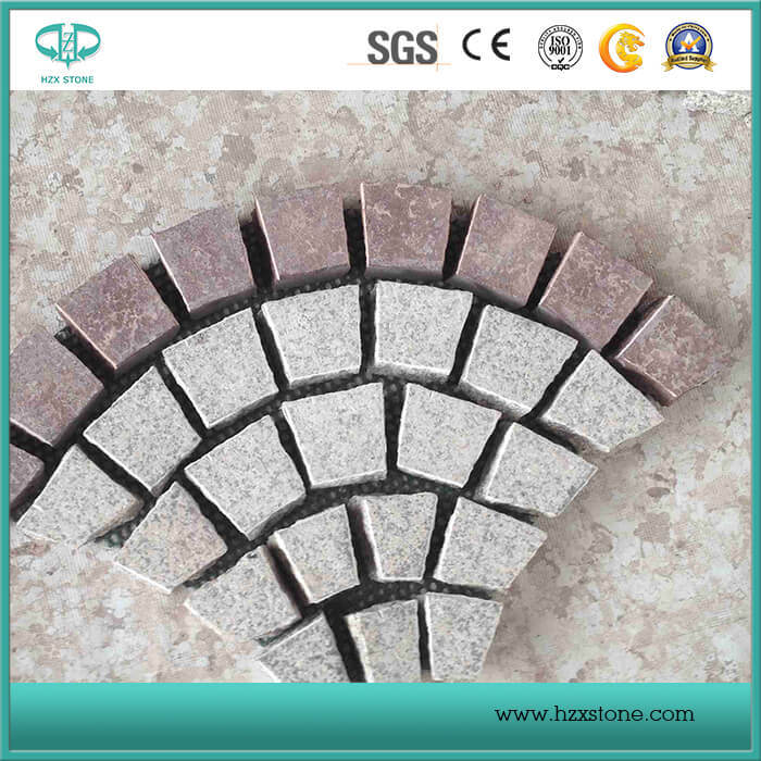 G682 Rusty Yellow/Beige Granite Paving/Cube/Cobble Stone/Setts Cobblestone for Landscaping/Driveway/Patio/Garden/Pathway pictures & photos