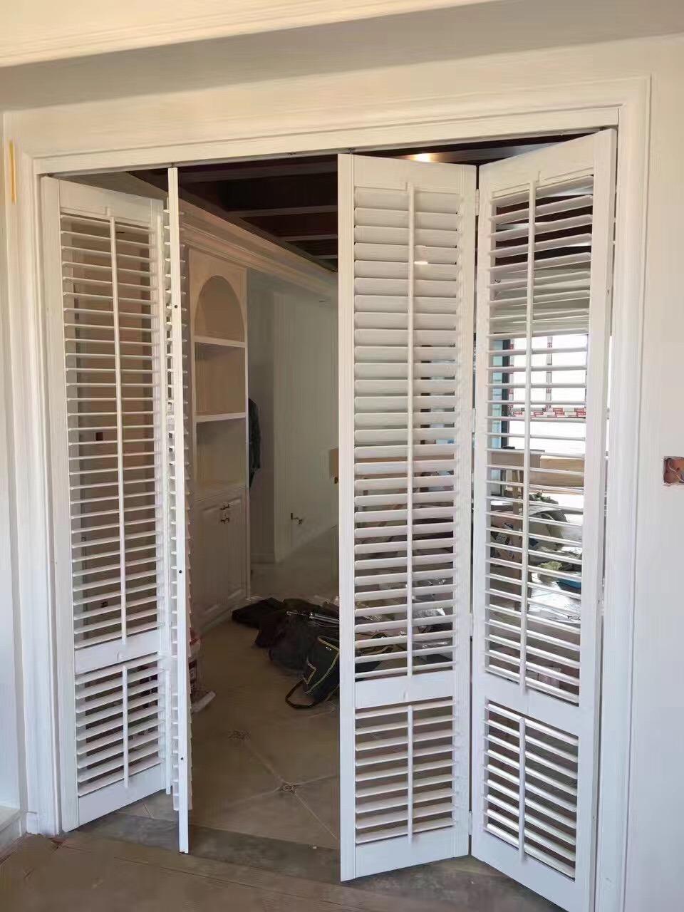 Hot Item Wooden Shutter Windows And Doors
