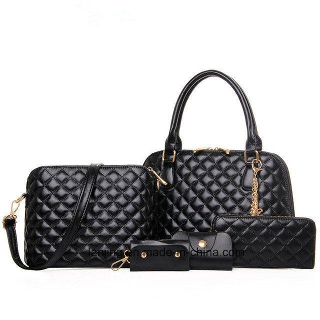 3e39e994ba1c 2018 Amazon Ebay Hot Sale Cheap Price 5PCS/Set Leather Ladies Bags Handbag  in China - China Fashion Bags, Shopping Bag