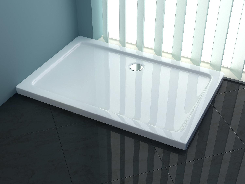 China Rectangle Acrylic Shower Tray - China Shower Plate, Shower Base
