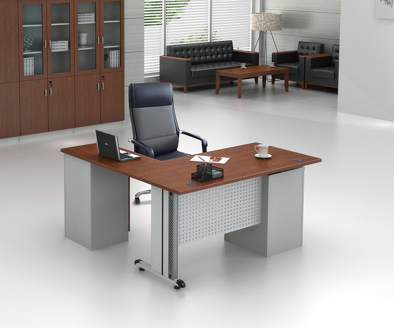 China Manager Office Furniture Metal Desk Bases Mdf Executive Table