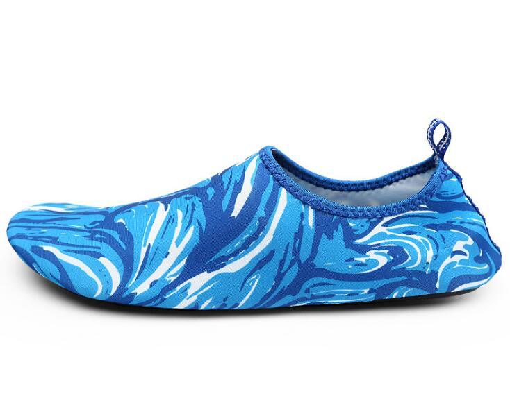 00a7fb1d008e Beach Swimming Rubber Men Ladies Fashion Aqua Water Shoe Surfing Skin Shoes