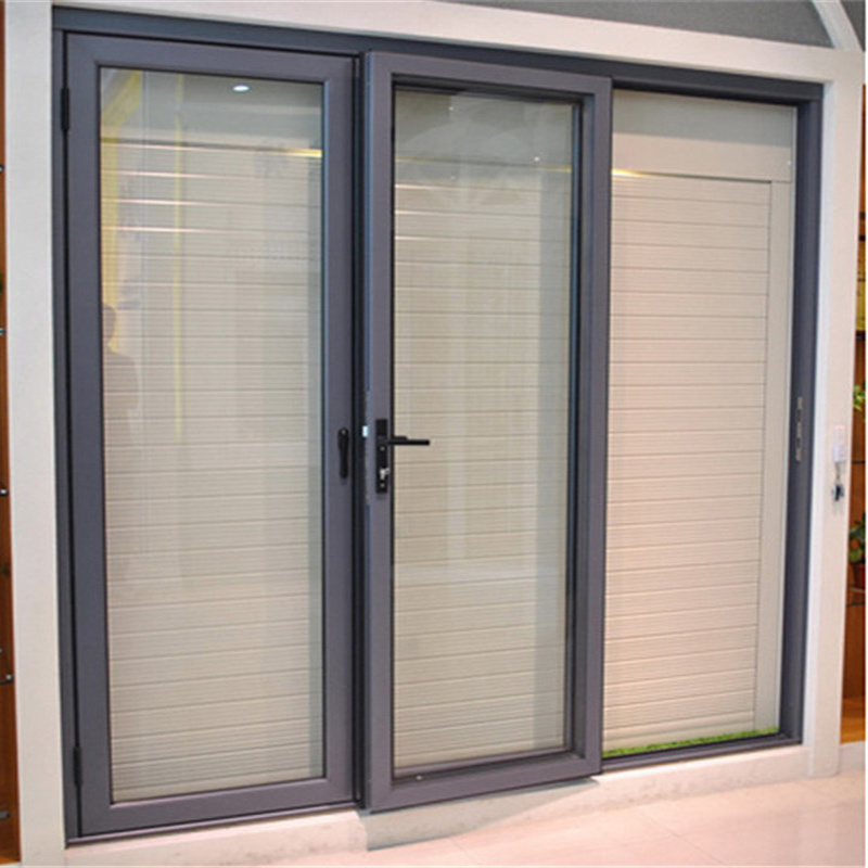China New Product Aluminum Interior Frameless Glass Sliding Doors