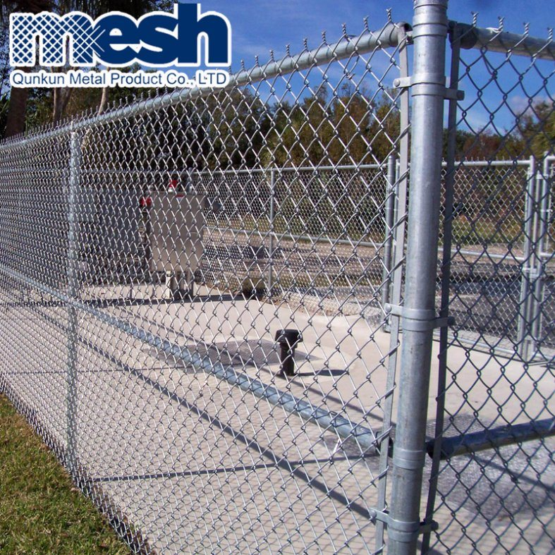 China Used Chain Link Fence In Good Price