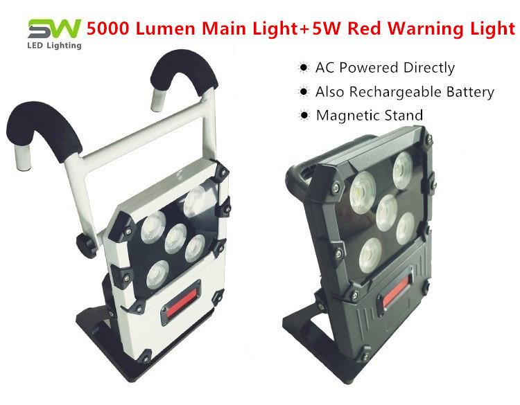 2 x 700 Lumens 2 X 10W Adjustable LED Tripod Site Work Light /& 3 Year Warranty