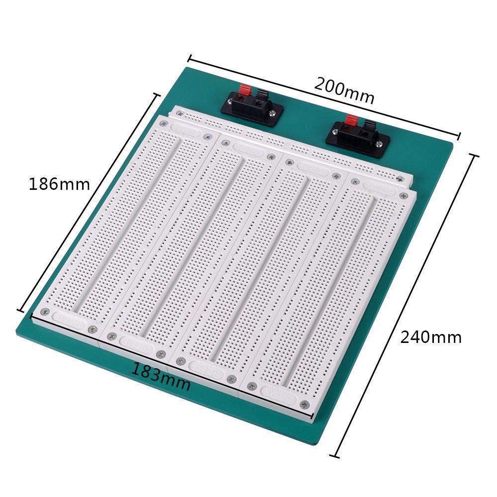 4 In1 700 Position Point SYB-500 Tiepoint PCB Solderless Bread Board Breadboard