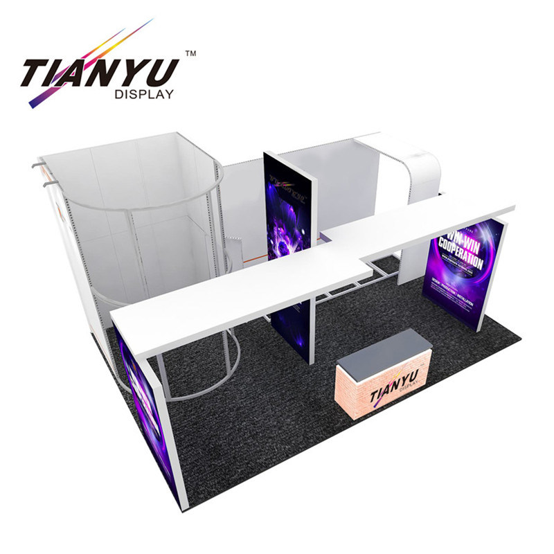 China 3d Max Trade Show Display Tension Fabric Booth Clothing Display Racks China Exhibition Stand Exhibition Booth
