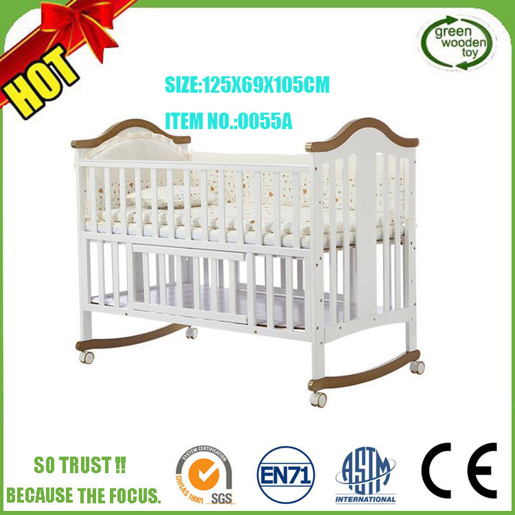 Free China Baby Beds Cribs Wood Handmade Antique Wholesale Unique