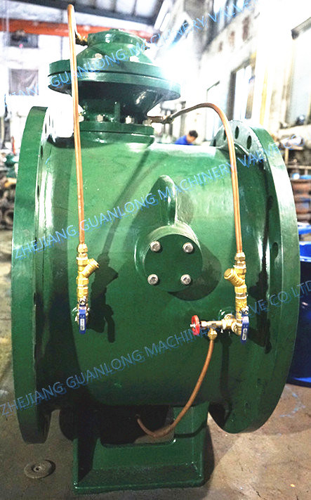 Diaphragm Type Inline Force Control Valve (BFDG7H41) pictures & photos