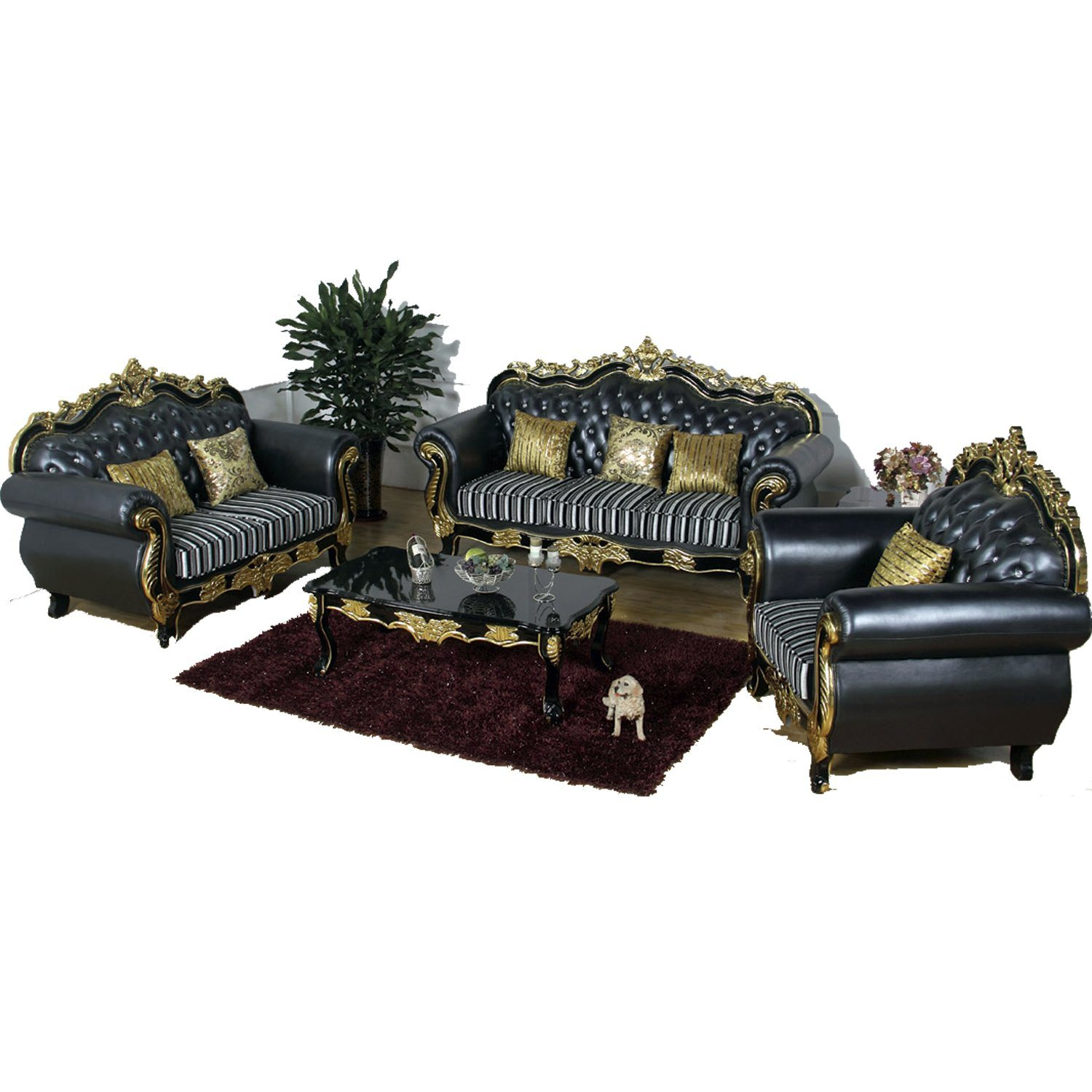 [Hot Item] Classic Leather Sofa in Optional Color for Home Furniture (929F)