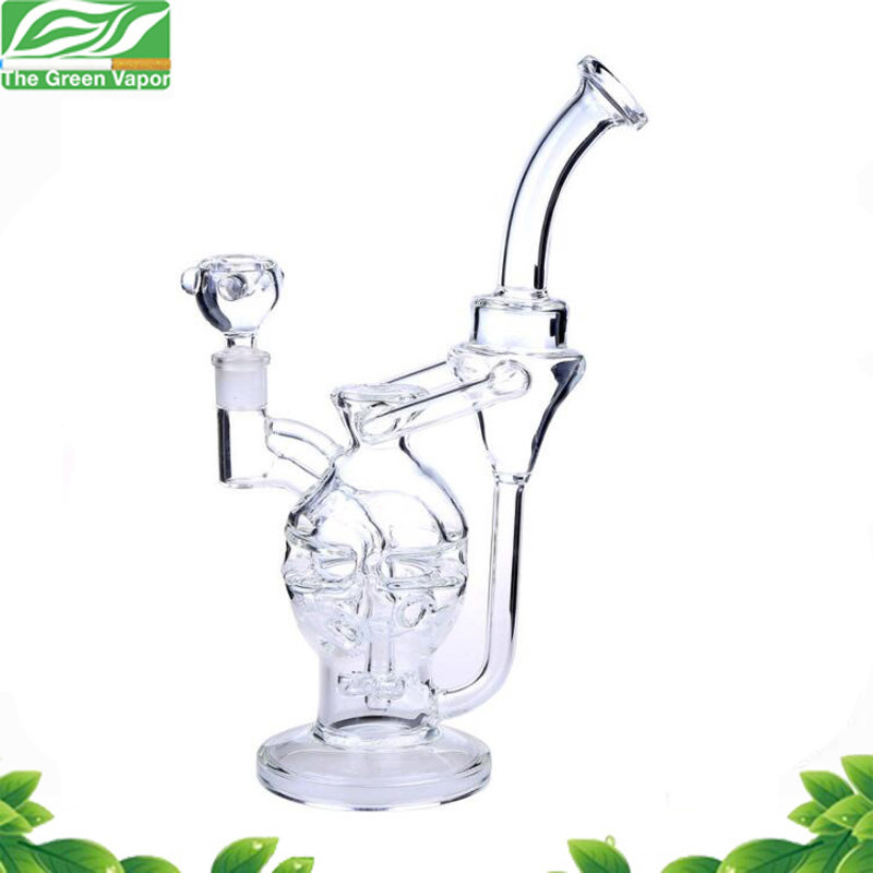 Glass Hookah High Quality Recyler Glass Water Smoking Pipe with Factory Price pictures & photos