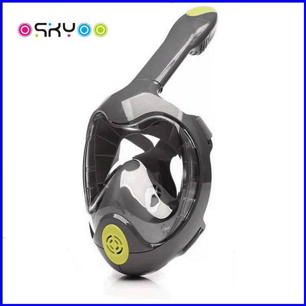 Snorkel Mask Full Face 180 View Diving Mask with Action Camera Moun pictures & photos