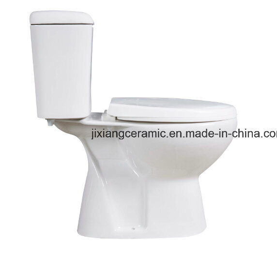 Cheap Ceramic Two-Piece S-Trap Toilet