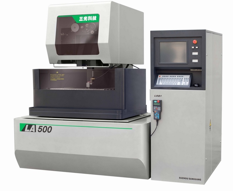 Classic Type: CNC Brass Wire-Cut EDM La500 (Closed Loop Digital Control System) Ssg