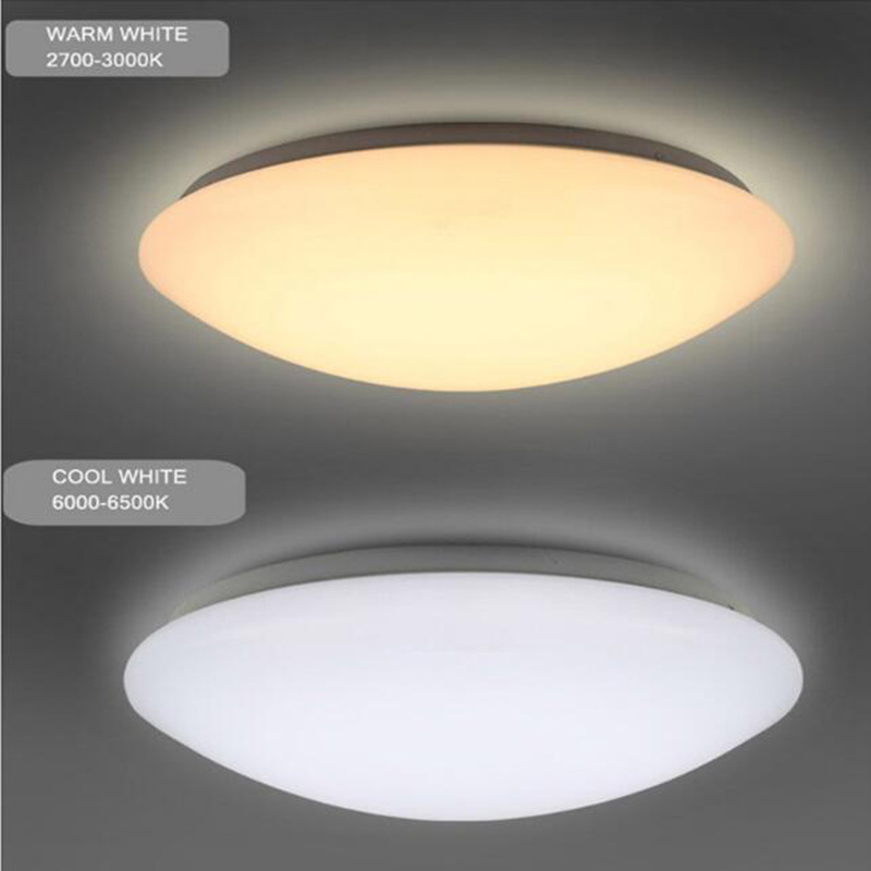 IP44 12W Pre-Set CCT Microwave Motion Sensor LED Ceiling Light