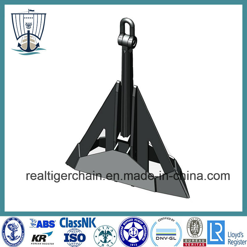 Marine High Holding Power Delta Flipper Ship Anchor