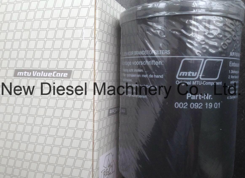 [Hot Item] Mtu Engine Spare Parts Filters (0020921901)