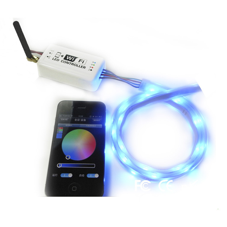 WiFi Bluetooth Remote IR RGB LED Controller RF