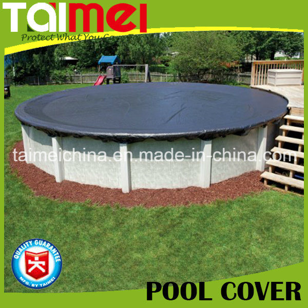 [Hot Item] PE Tarpaulin for Above Ground Swimming Pool Cover/Winter Cover