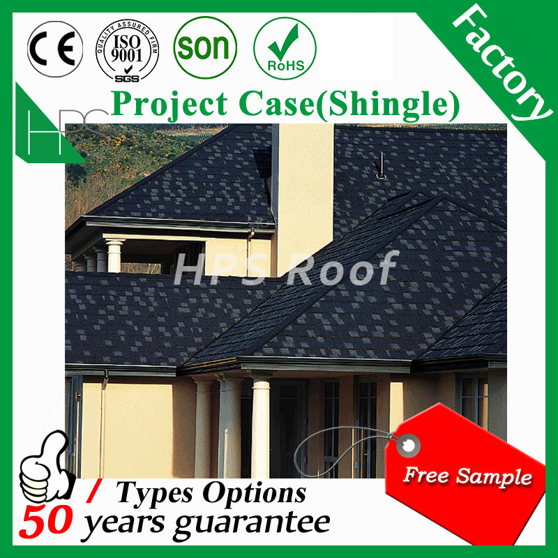 China Kenya Ghana Tanzania Stone Coated Metal Roofing