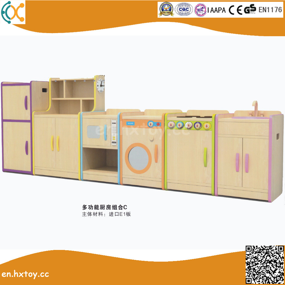 China Kids Educational Role Play Toys Wooden Kitchen Play Set ...