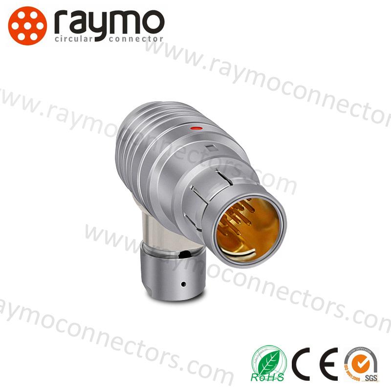 China Wso 104 A 086 -130+ 16pin Right Angle Plug IP68