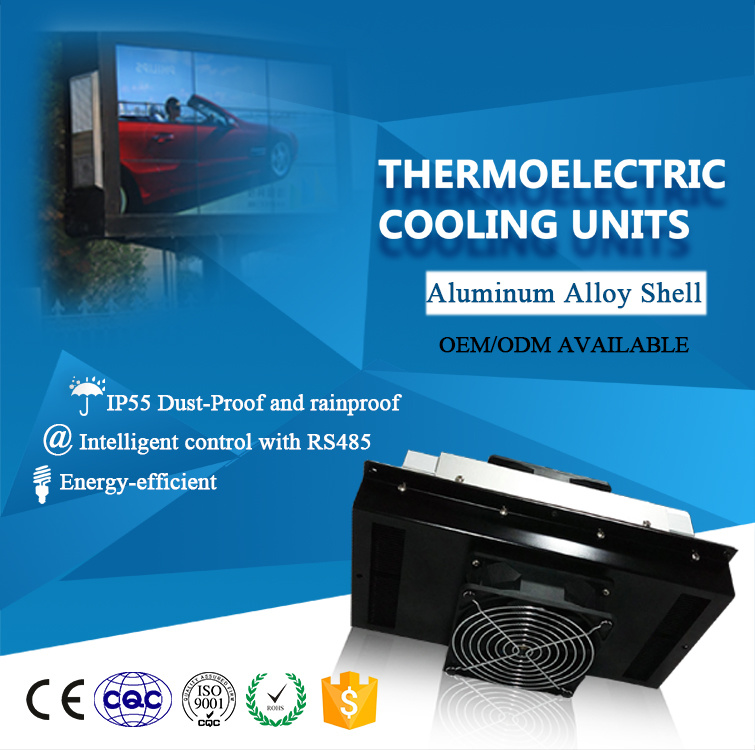 Air to Air Peltier Semiconductor Air Conditioner for Advertising Machine