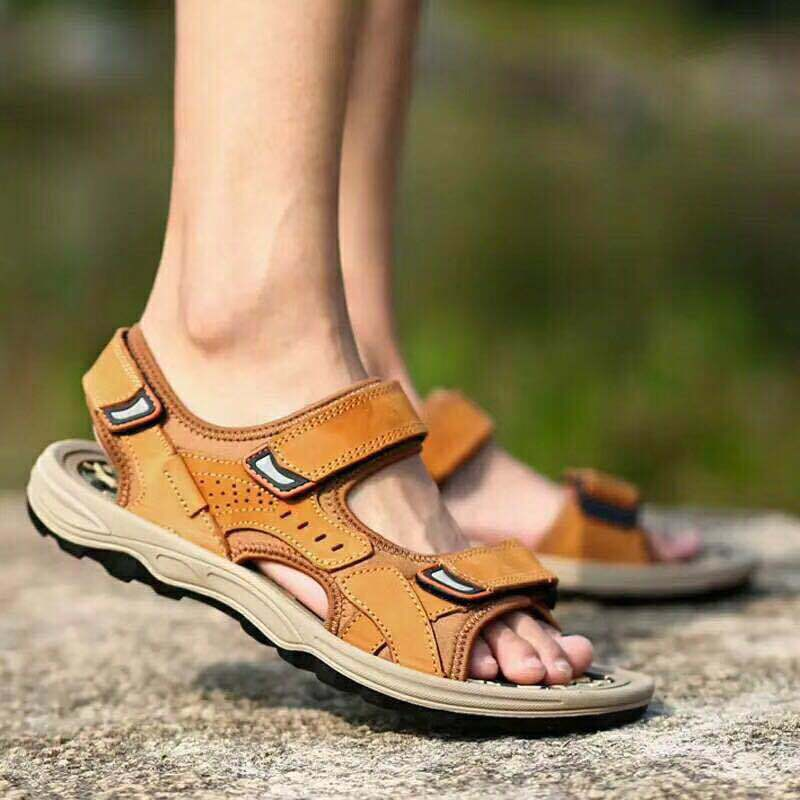 China Manufacturers Athletic Sport Sandals Slides Men Outdoor Summer  Leather Fisherman Beach Casual Shoes Hiking Factory Sport Shoes - China Athletic  Sport Sandals and Men Outdoor Summer Sandal price