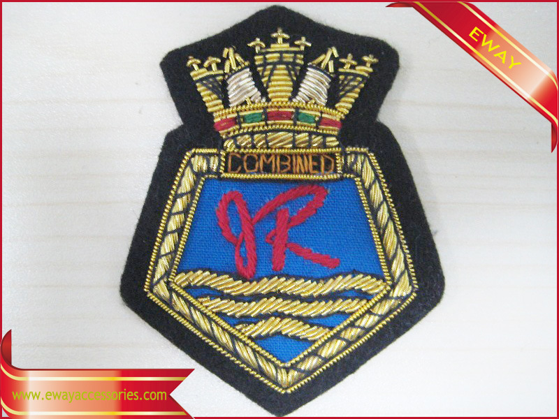 Police Embroidery Patch Garment Fabric Woven Patch pictures & photos