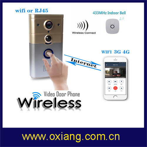 WiFi Video Doorbell Digital Wireless Intercom Video Door Phone pictures & photos