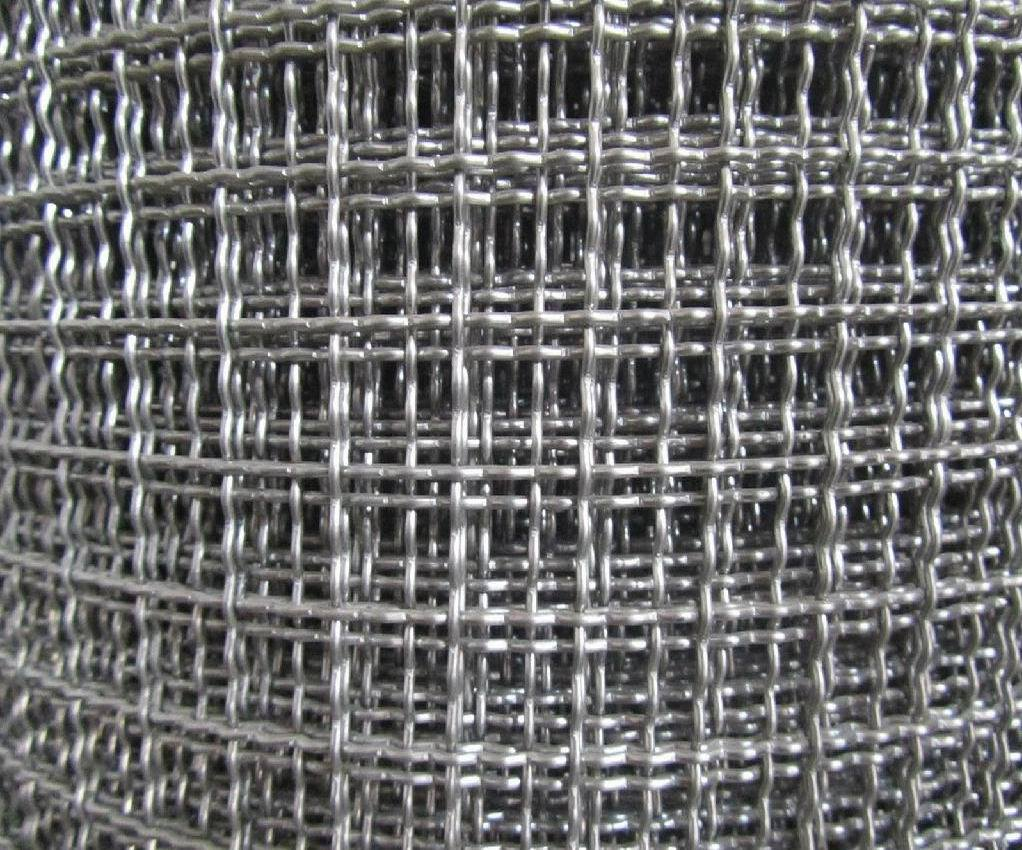 China Flat Type Galvanized Crimped Wire Mesh/Vibrating Screen Cloth ...