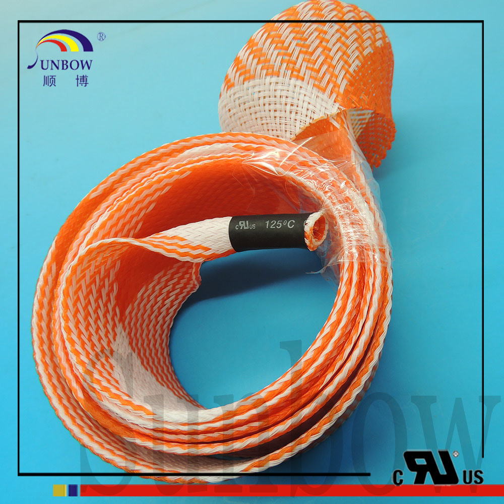China Expandable Polyester Braided Tubing Fishing Rod Cover - China ...