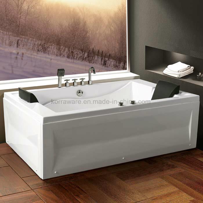 China (K1281) Freestanding Acrylic Bathtubs / Massage Whirlpool ...