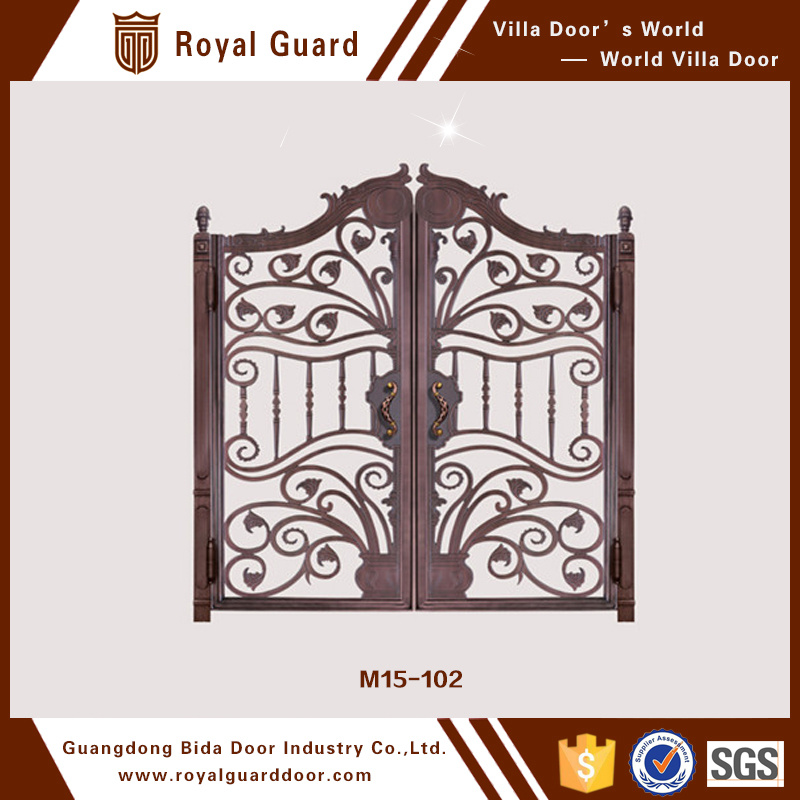 China Elegant Style Modern Metal Gate Fence Gate Design Front Gate ...