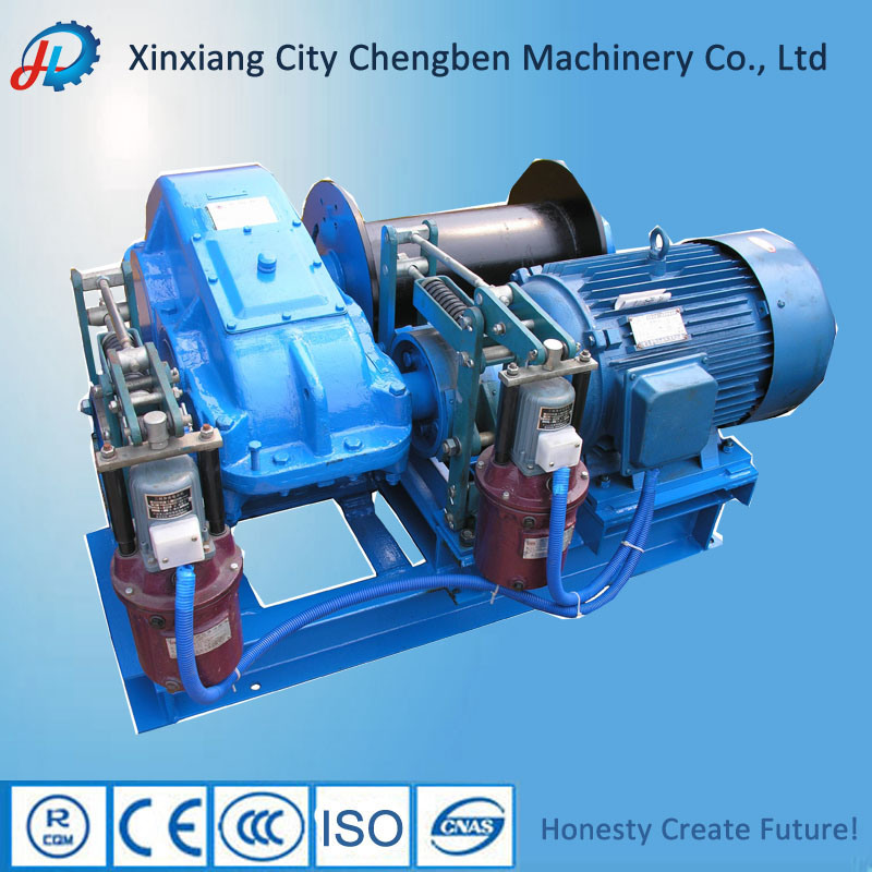 China Strong Long Wire Rope Winch for Construction - China Wire Rope ...