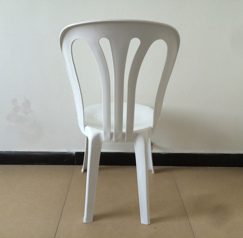 Outdoor Polypropylene Plastic Chair, Plastic Dining Chair