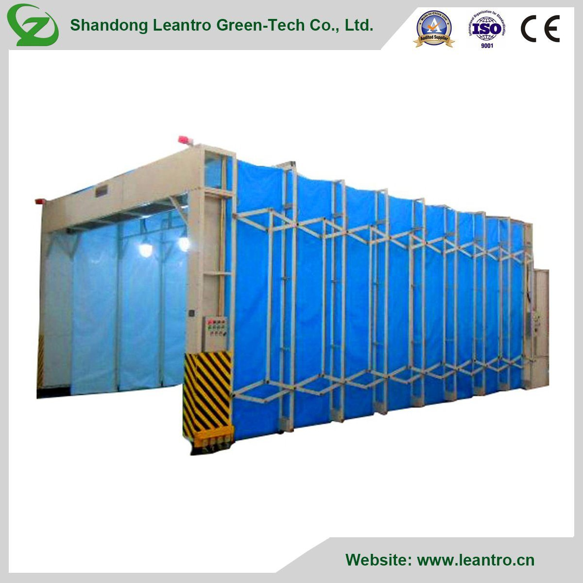 High Quality Convenient Flexible Portable Movable Paint Booth pictures & photos