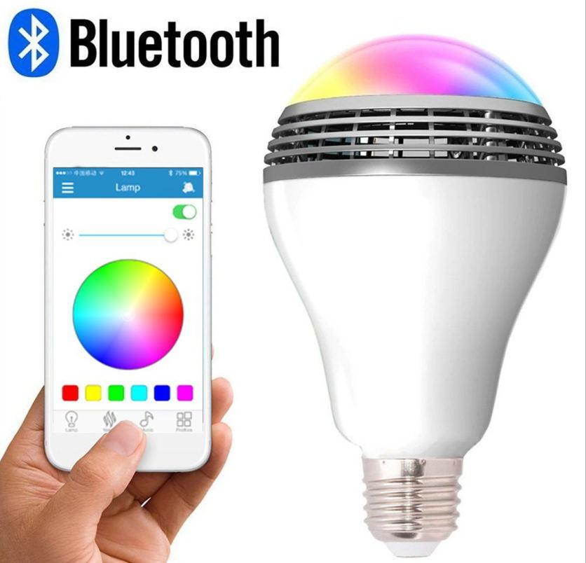 [Hot Item] Innovative Smart Home LED Light Bulb Bluetooth Speaker Smart  Bulb Speakers