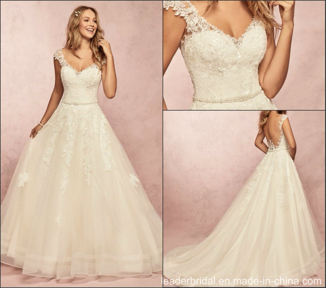 bfae4ac03a9 Tulle Cap Sleeves Wedding Dress - Data Dynamic AG