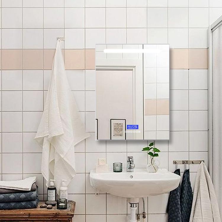 China Led Lighted Vanity Mirror Light Bathroom With Bluetooth Speaker Anti Fog China Vanity Mirror Bathroom Mirror